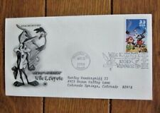 ROADRUNNER AND WILE E COYOTE WARNER BROTHERS ANIMATION 2000 PCS CACHET FDC