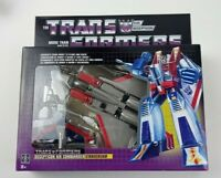 TRANSFORMERS Decepticon Starscream Jet G1 Reissue 2018 Hasbro Walmart NEW