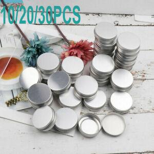 Bulk Cosmetic Empty Jar Pot Cream Lip Balm Jar Bottle Box Container Tin CakY