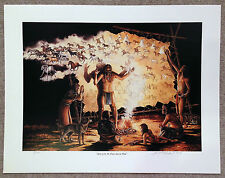 "Bob (Robert) Kercher Listed Montana Artist Signed Numb Print ""Spirit of the ..."""