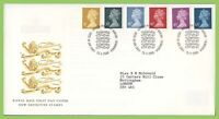 G.B. 2000 six definitives on Royal Mail First Day Cover, Tallents House