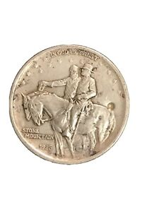 1925 Stone Mountain Memorial Commemorative Silver Half Dollar