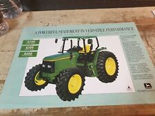 1994 JOHN DEERE 6000 Series Tractors Original Australian Sales Leaflet