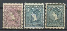 Nederlands Indië  58 C, 59 C en 59 D gebruikt (1)