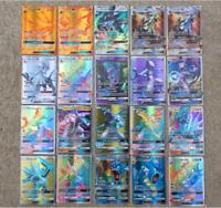 100PCS GX Pokemon English Flash Cards Charizard Blastolse Venusaur Kids Gift Hot