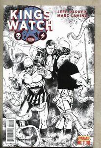 Kings Watch #1-2013 vf+ 8.5 Dynamite 2nd Variant cover The Phantom Flash Gordon