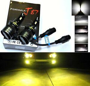 LED Kit G8 100W 9006 HB4 3000K Yellow Two Bulbs Fog Light Replace Plug Play Lamp