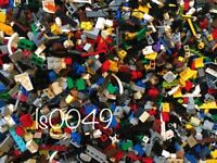 100 Small Lego STEAM Pieces LOT Bricks Parts Tiny Detail Tile TECHNIC Random
