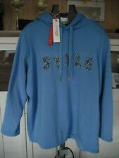SHEEGO Pullover Kängeruhform Blue BIG SIZE Nanuk Fleece Style  XXXL 48/50