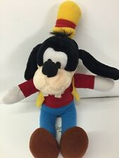 Goofy Plush Vintage Disneyland Walt Disney World Stuffed Toy Euc Red Shirt
