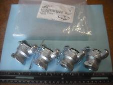 4 Dixon GAM8 Plated Steel Global Air Hose Fitting, King Universal Couplings.