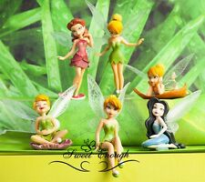 LATEST 6 pcs Fairies Tinker Bell Tinkerbell Peter Pan Action Figures SET