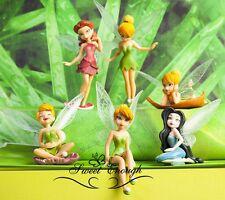 LATEST 6 pcs Fairies Tinker Bell Tinkerbell Peter Pan Action Figures SET