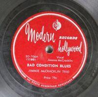 Hear! Blues 78 Jimmie Mccracklin - Bad Condition Blues / Blues Blasters Shuffle