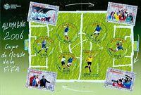 2006 FRANCE BLOC N°97** BF Coupe du monde Football, sheet Soccer Cup MNH