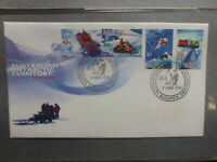 AUSTRALIA 1998 AAT TRANSPORT SET 4 STAMPS FDC FIRST DAY COVER MACQUARIE Is