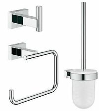 Grohe Essentials Cube City Restroom Accessories Set