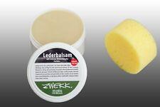 Ledersofas und Sessel Leder Balsam Lederpflege Set 180 ml + Pflegeschwamm