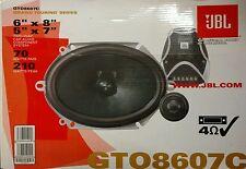 """JBL GTO 8607C / GTO8607C 210 Watts 2-Way 6""""x8"""" / 5""""x7"""" Car Speakers"""