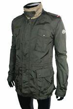 * Moncler Sommer Feldjacke khaki Military Fieldjacket Jacke oliv Jacket grün *