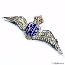 WW2 RAF SILVER Art Deco Sweetheart Brooch Badge -TL MOTT- Royal Air Force A048