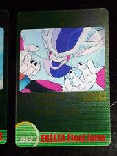 DRAGON BALL Z DBZ MORINAGA WAFER CARD CARDDASS PRISM CARTE 013 MOVING JAPAN NM-