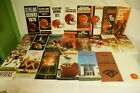 RARE LOT BY NFL CLEVELAND BROWNS 23 MEDIA GUIDE PROGRAM PRESS BOOK FOOTBALL