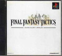 PS1 Final Fantasy Tactics Sony PlayStation Video Game Import JAPAN #SLPS-00770