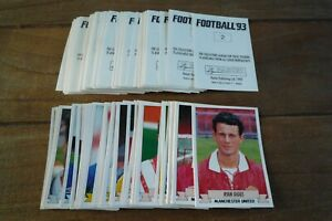 Panini Football 93 Stickers - VGC! - Pick The Stickers You Need! 1993