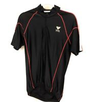 TYR mens medium cycling jersey competitor short sleeve t-shirt jersey