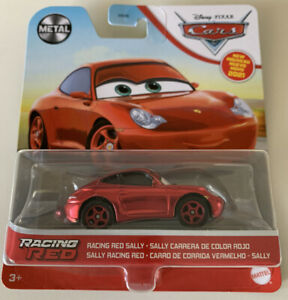2021 DISNEY PIXAR CARS - RACING RED SALLY - PORSCHE 911 - CHASE - NEW - METAL