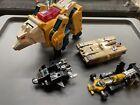 Weirdwolf Blitzwing transformers toy lot G1 & dinobots Go-Bot Parts 80's Junk