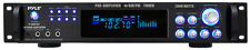 New Pyle P3001AT 3000 Watts Hybrid Pre-Amplifier w/AM FM Tuner DJ Pro Audio