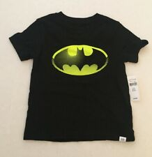 NWT BOYS BABY GAP BATMAN BLACK SHIRT SIZE 3T MSRP $19.99