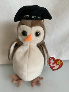 TY Beanie Baby WISE 1997 Class of 98