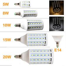 E27 E14 10W/11W/15W/20W/25W/30W LED 5630 SMD Corn Light Lamp Bulb 110V 220V