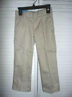 Great French Toast boys size 5 wrinkle free khaki pants adjustable waist NWT