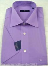 CASAMODA klassische Kurzarm Herrenhemden aus Baumwolle