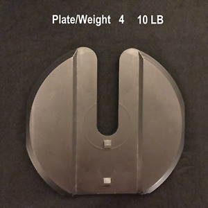 Bowflex 1090 SelectTech Dumbbell Replacement #4 (2nd large) Weight Plate (10lb)