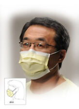 Kimberly-Clark Tecnol Yellow Procedure Masks #47117     50 count Box