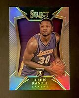 2014 Panini Select Silver Prizm Julius Randle Rookie RC #89