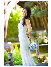 Herve Leger IMPERFECT wedding White Strapless gown Maxi dress size XXS or XS