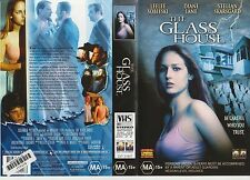 Vhs * The Glass House * 2001 Australian Columbia Pictures - Adventure Thriller