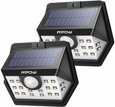 2 Pezzi Lampada Solare con 20 LED, Super Luminosa Luce Solare da Esterno IP65