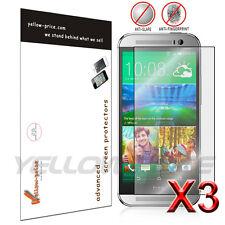 HTC ONE M8 Screen Protector 6x Anti-Scratch HD Clear Shield Guard Cover Film
