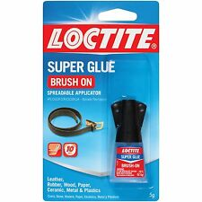 Loctite 852882 Brush On All Purpose Adhesive, 5 g Carded Bottle, Clear Liquid *