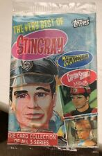 Vintage 6 Packs Unopened 1993 Topps Stingray Thunderbirds Captain Scarlet Cards