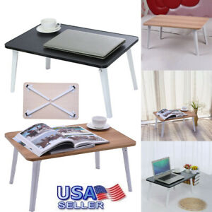 Laptop Bed Table Foldable Sofa Breakfast Tray Notebook Stand Reading Holder