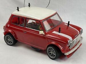 Original Tamiya 1/10 RC Rover Mini Cooper model 58149, chassis M-01, used 1994