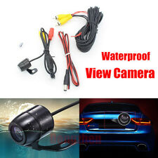 Car Auto New Reversing Rear View Camera Backup Parking 170* Angle Waterproof